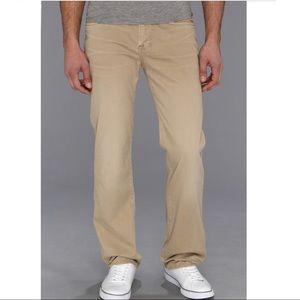 7 For All Mankind • Straight Leg Soft Khakis Sz 33